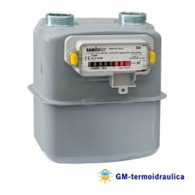 """Contatore Misuratore Gas Samgas Group RS/2001 Inclusa Staffa Montaggio 1"""""""