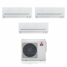 Climatizzatore Mitsubishi AP wifi trial split con inverter da 9000+9000+9000 in r32 MXZ-3F54VF