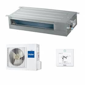 Climatizzatore canalizzato Haier SLIM a bassa pressione 18000 Btu AD18SS A+