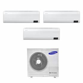 Climatizzatore Samsung WindFree Avant wifi trial split 7000+7000+9000 btu inverter A+++ in R32 AJ052TXJ3KG