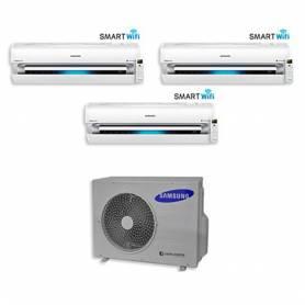 Condizionatore Samsung Trial Split Inverter 9000+12000+12000 9+12+12 Btu AR9000M Wi-Fi A+ AJ068FCJ4EH/EU