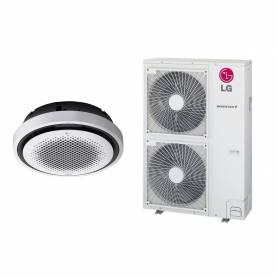 Climatizzatore a cassetta Lg Round da 48000 btu UT48F NY0 UUD3 U30 inverter con gas R32