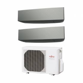 Climatizzatore Fujitsu KE silver dual split 9000+9000 btu AOYG14KBTA2 con R32 in A+++