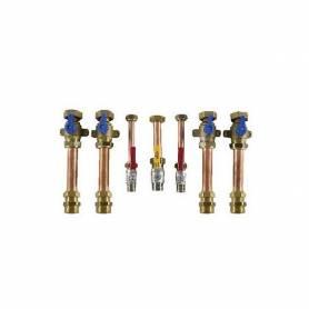 Kit collegamento impianto per sistemi ibridi ad incasso 7217125