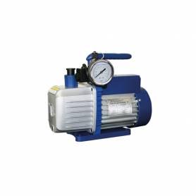 Pompa del vuoto Bistadio Tecnosystemi con Elettrovalvola e vacuometro in bagno d'olio TS128 BEV-BO 1/2 HP per Gas R32