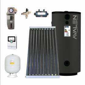 Sistema solare con integrazione piscina Avalen SunPool Pro da 300 lt a circolazione forzata