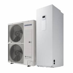 Pompa di calore Samsung EHS Mono R32 da 12 kW con ClimateHub da 260 Lt monofase