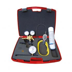 Mini kit Tecnosystemi cercafughe azoto/idrogeno verifica pressione impianti
