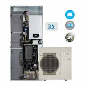 Sistema ibrido Baxi CSI IN 8 Split H Wi-Fi pompa di calore e caldaia con Wi-Fi