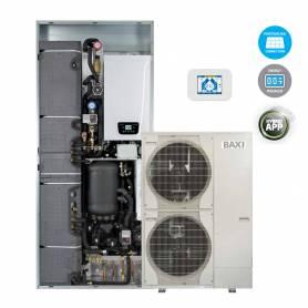 Sistema ibrido Baxi CSI IN 11 Split H Wi-Fi pompa di calore e caldaia con Wi-Fi