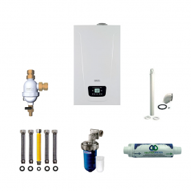 Finanziamento a Tasso zero Caldaia a Condensazione BAXI DUO-TEC COMPACT+ 24 E 24,7 KW ERP
