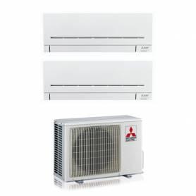 Climatizzatore Mitsubishi AP wifi dual split con inverter da 9000+9000 in r32 MXZ-2F33VF