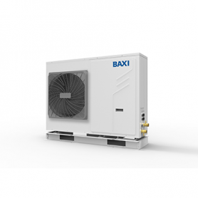 Pompe di calore Baxi Auriga 5M aria-acqua monoblocco inverter monofase da 4,65 kW