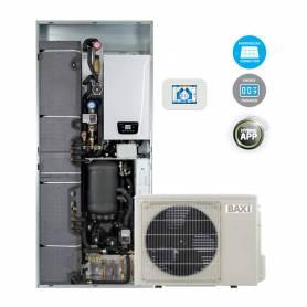 Sistema ibrido Baxi CSI IN 6 Split H Wi-Fi pompa di calore e caldaia con Wi-Fi