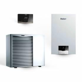 Sistema Ibrido 5.1 Vaillant caldaia combinata a condensazione 30 kW e pompa di calore 5 kW