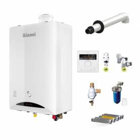 Caldaia a condensazione Rinnai Zen 29 kW ErP con WiFi a gpl sconto in fattura 65%