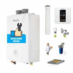 Caldaia a condensazione Rinnai Momiji 34 kW ErP Wi-Fi sconto in fattura 65%