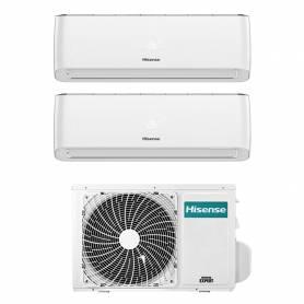 Climatizzatore Energy Pro Hisense dual split 9000+9000 btu inverter con Wifi 2AMW42U4RRA