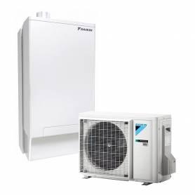 Kit sistema Daikin Rotex HPU HYBRID SYSTEM per riscaldamento raffrescamento e produzione di ACS da 8 kW