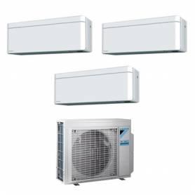 Climatizzatore trial split con inverter 7000+9000+9000 DaikinStylish White WiFi R32in A+++ 3MXM40N