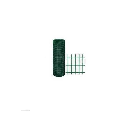 ROTOLO 25mt RETE RECINZIONE METALLICA 200 CM - PLASTIFICATA VERDE ELETTROSALDATA 50X75