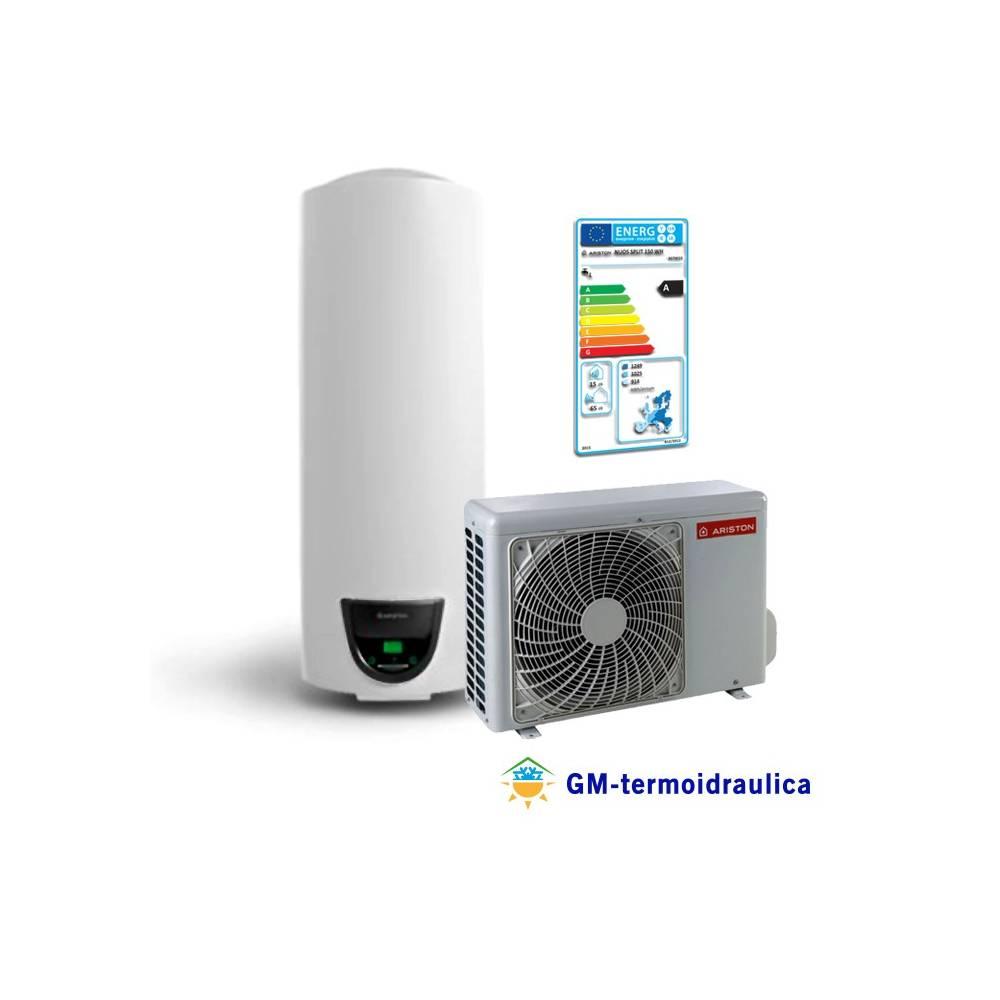scaldabagno a pompa di calore ariston nuos split 200 wh accumulo 200