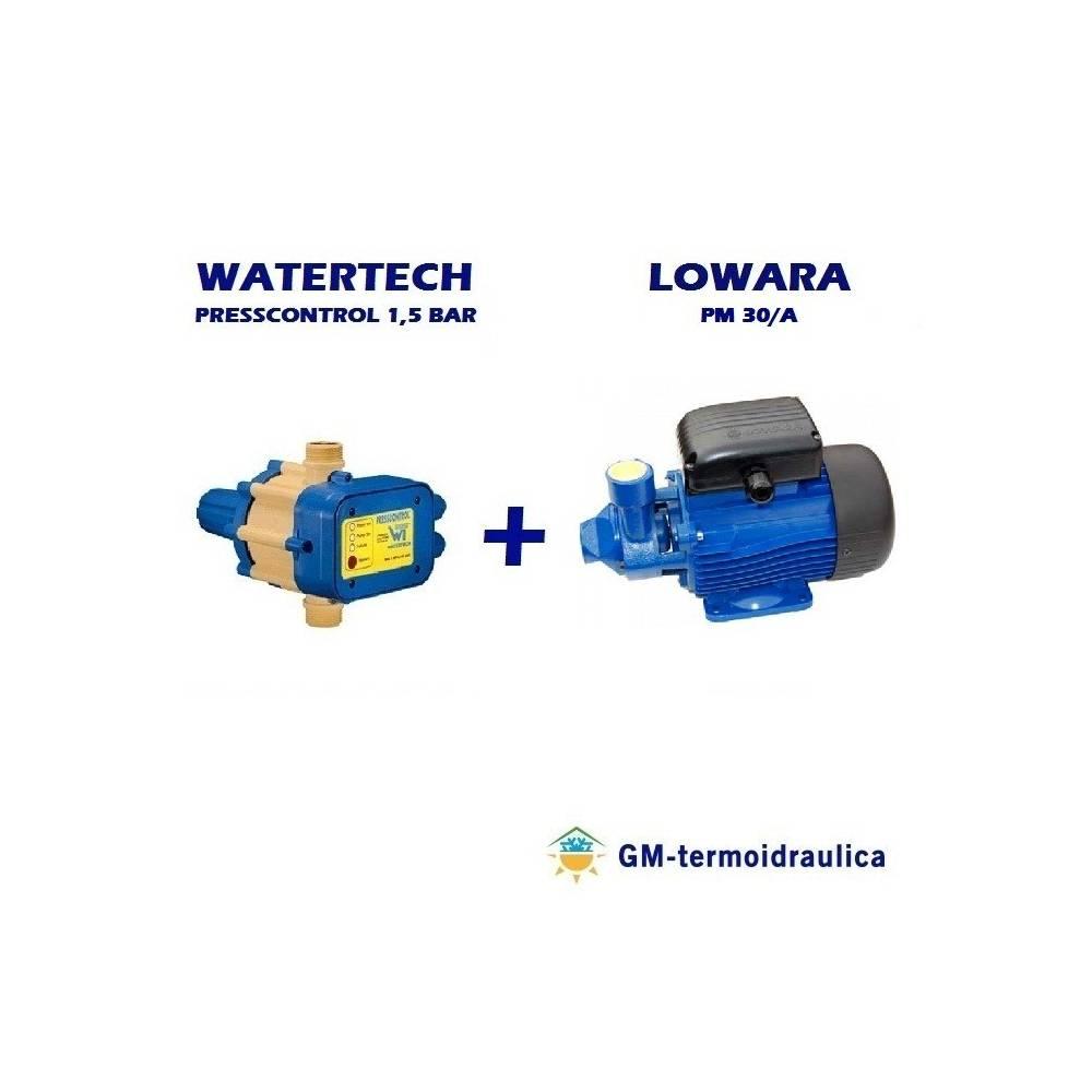 AUTOCLAVE PRESSCONTROL 1,5 Accesorios para bombas de agua Accesorios y herramientas de fontanería