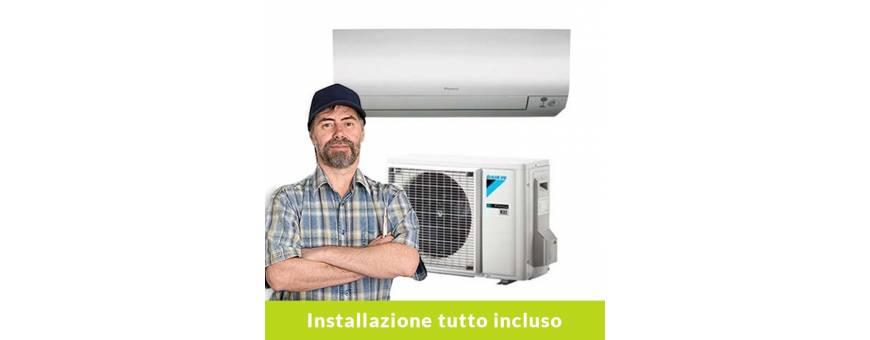 Climatizzatori con installazione
