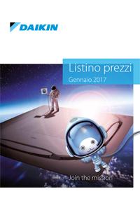 listino catalogo climatizzatori daikin 2017