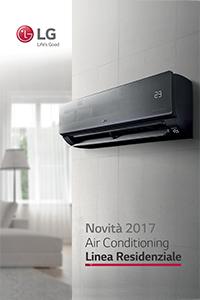 catalogo climatizzatori condizionatore lg linea residenziale 2017