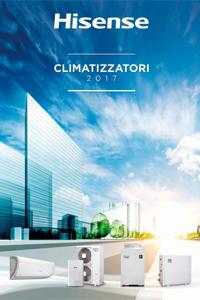 catalogo listino prezzi Hisense 2017 condizionatori climatizzatori gm-termoidraulica