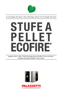 catalogo palazzetti Stufe a pellet ecofire 2017